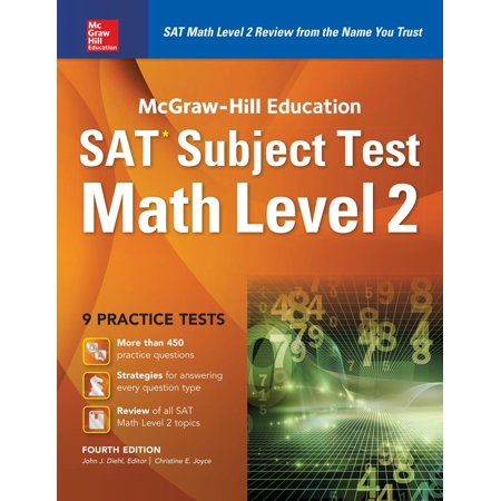 McGraw-Hill Education SAT Subject Test Math Level 2 4th Ed.
