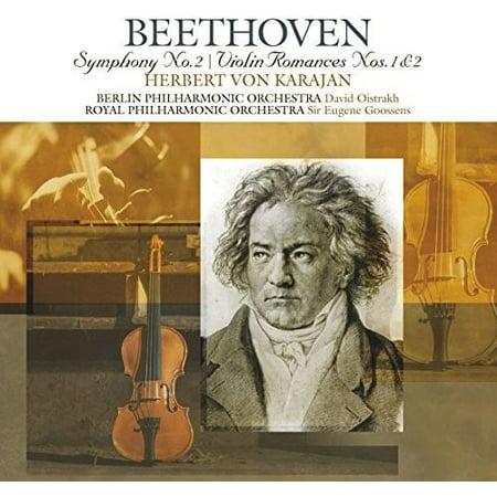 Beethoven: Symphonies 2 / Violin Romances 1 & 2 (Beethoven Violin Romance No 2 Sheet Music)