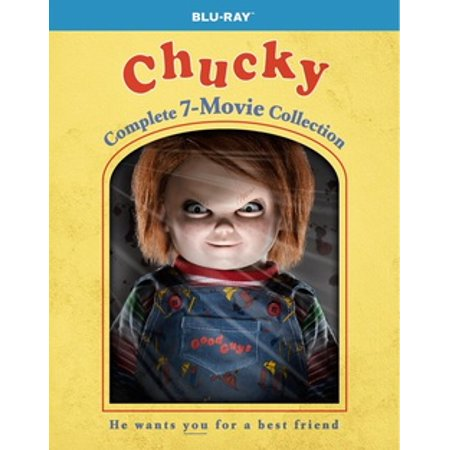 Chucky: The Complete 7-Movie Collection (Chalky Paper)