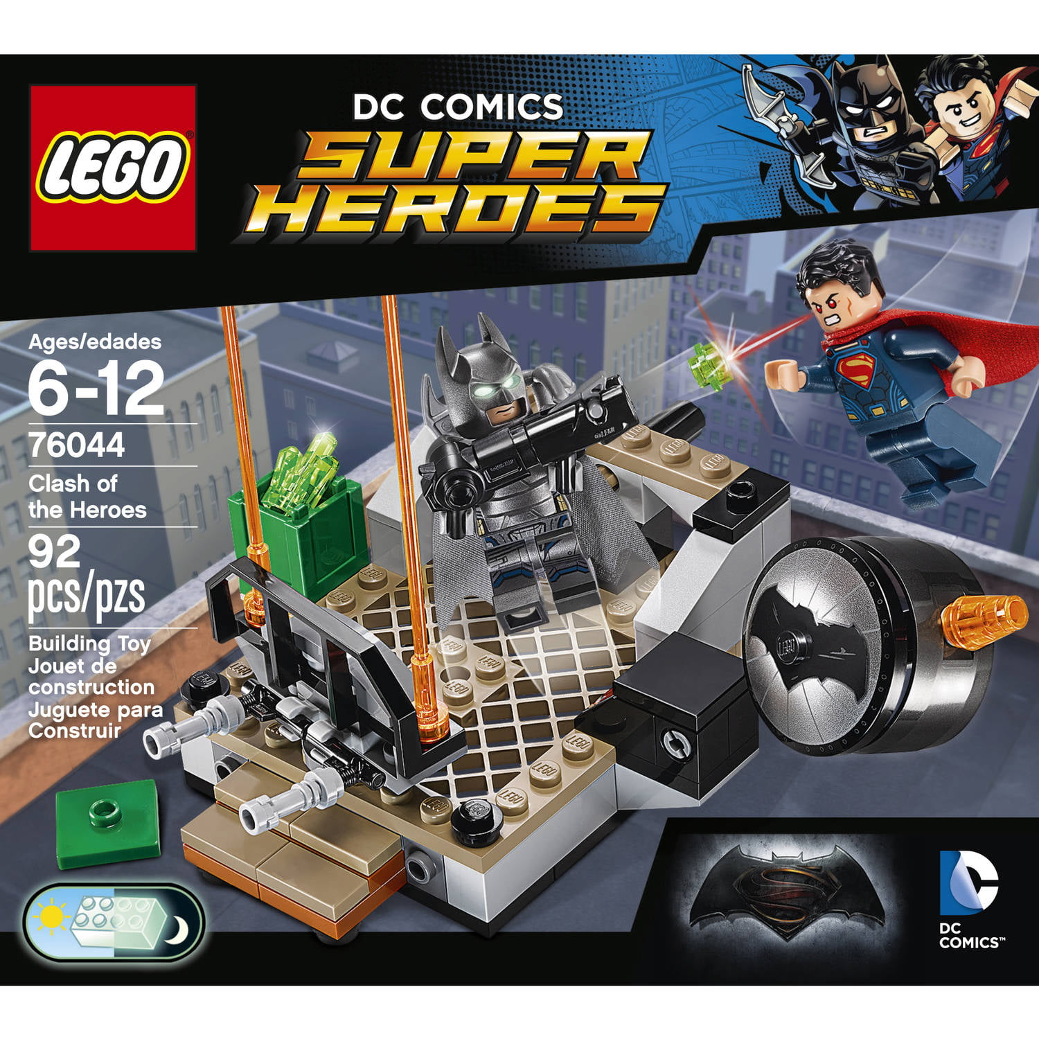 Legos For Free Lego Super Heroes Clash Of The Heroes 76044 Walmartcom