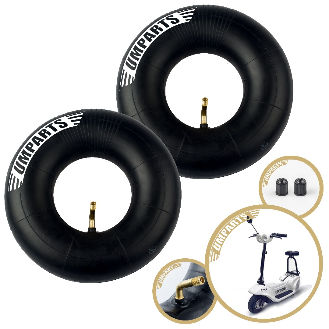 "3.00-4, 10""x3"", 260x85mm, Xcooter Zipper XC533GTG Scooter Wheel Tire Inner Tube innertube Replacement (Set of 2) 3.00-4, 10""x3"", 260x85mm,"