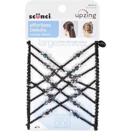 Scunci Effortless Beauty Upsizing Large Beaded Double Comb