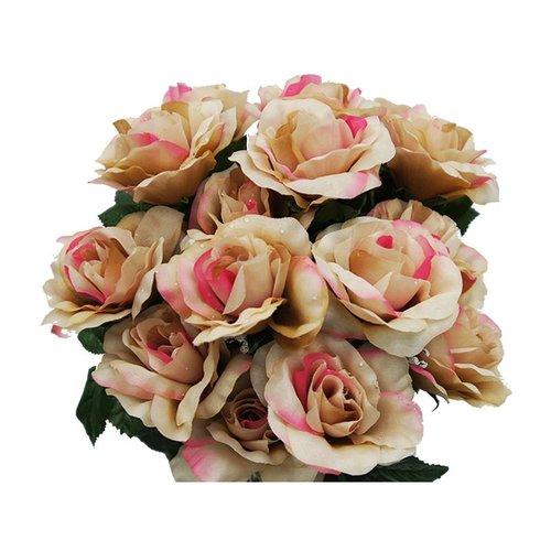 Hikari 96 GIANT Silk Open Rose