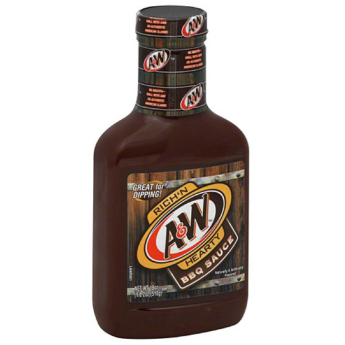 Image of A Rich'n Hearty BBQ Sauce, 18 oz, (Pack of 6)
