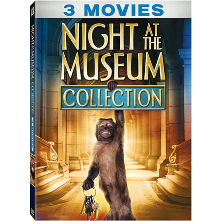 Night At The Museum 3-Movie Collection (DVD) (Halloween Night Movie Review)