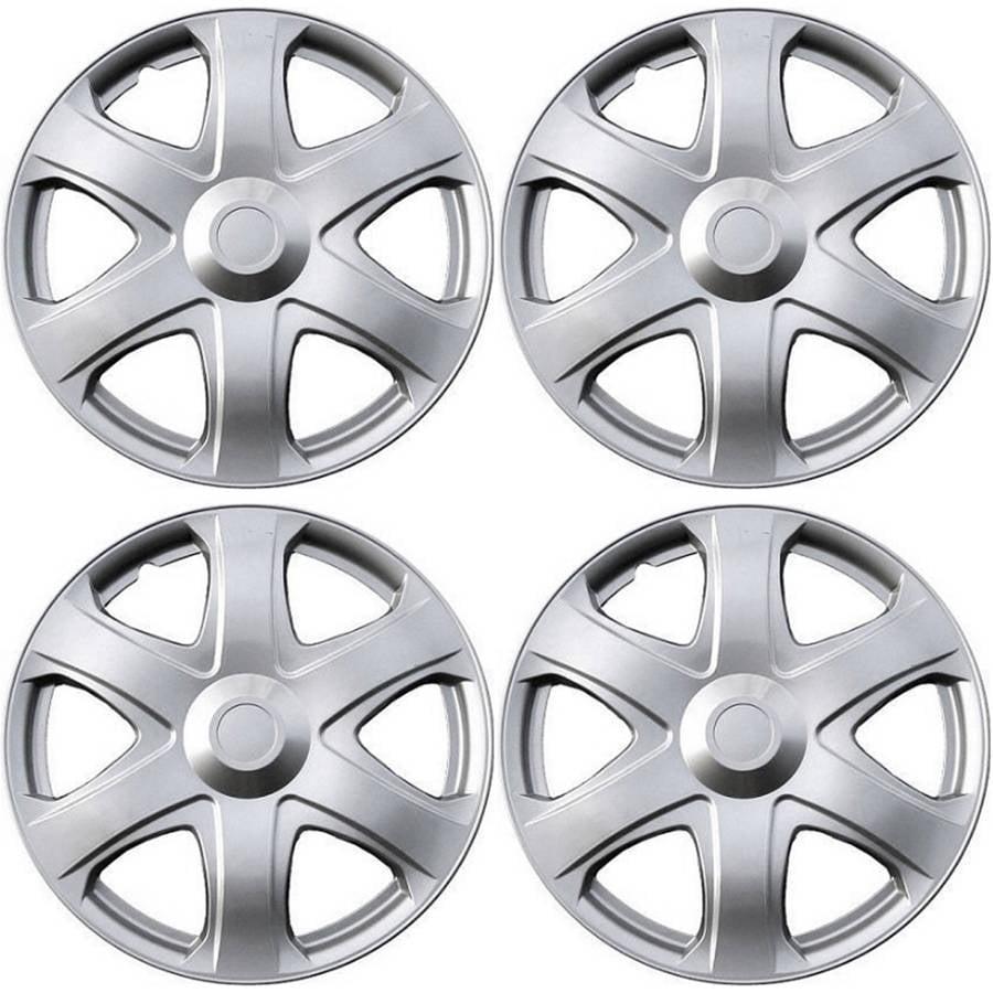 "4 Piece Set A/M Silver ABS Fits 2009 TOYOTA MATRIX 16"" Wheel Cover Hub Caps"