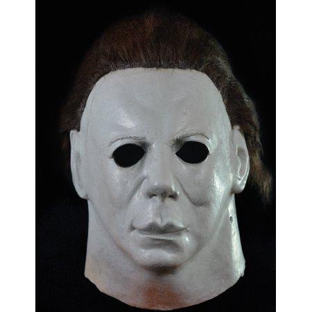 Halloween 2 Trick Or Treat Studios (Trick or Treat Studios Halloween II Hospital Full Head Mask, Grey,)