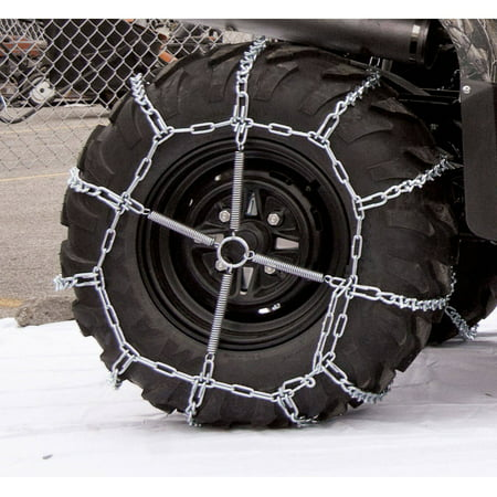 Atv V-Bar Tire Chains, 25X8X12, 4 Link Spacing Thule Tire Chains