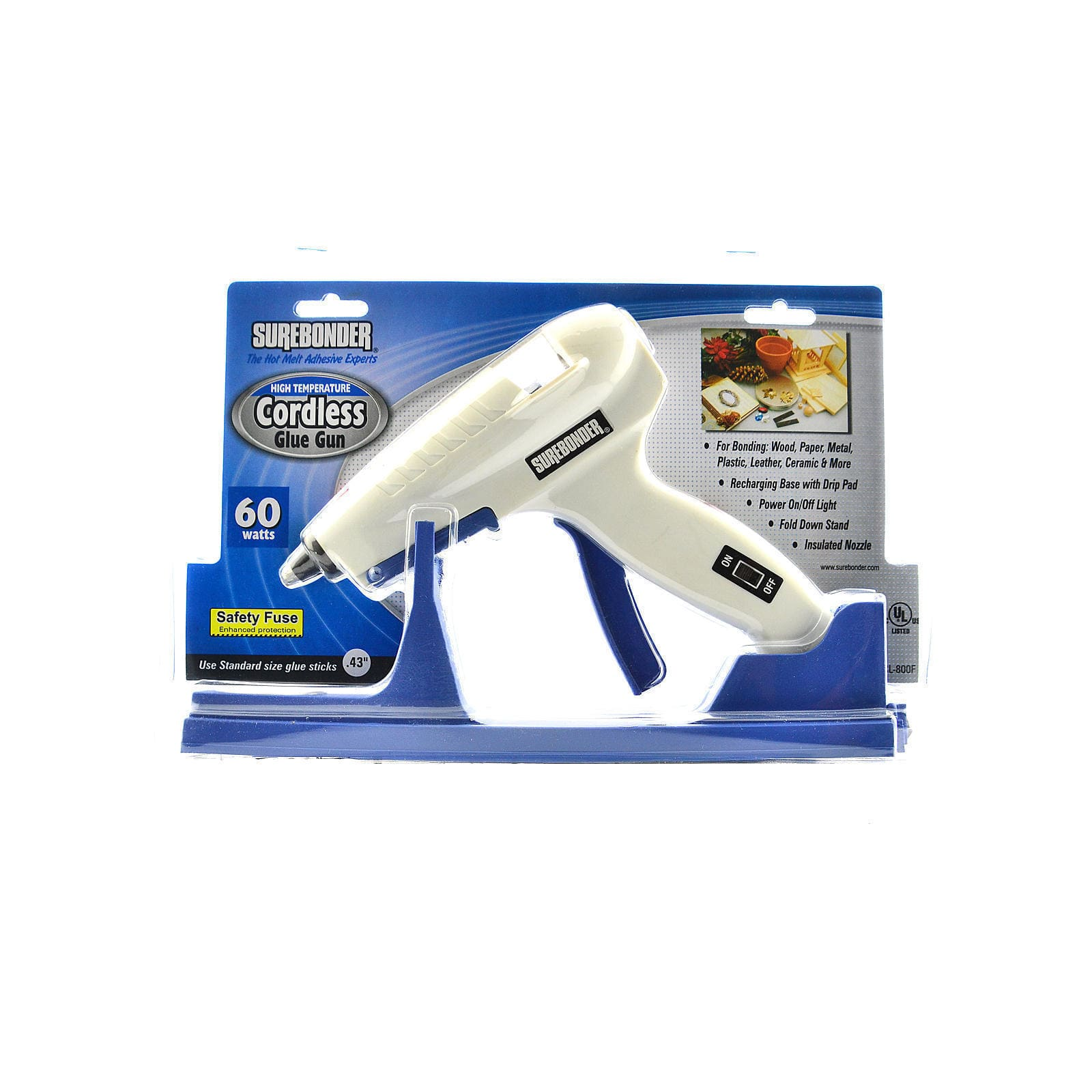 Surebonder CL-800 Cordless High Temperature Glue Gun (Pack of 2) by Overstock