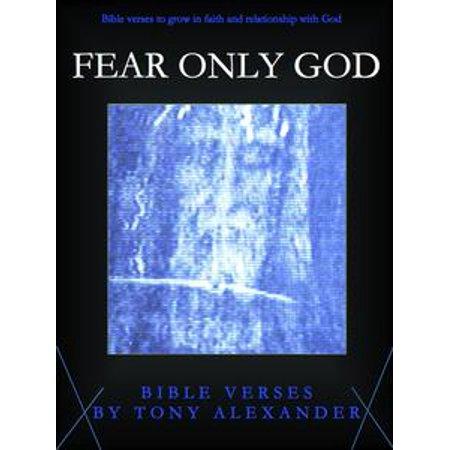 - Fear Only God Bible Verses - eBook