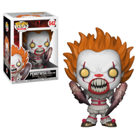 Funko POP! Movies IT: Pennywise with Spider Legs (S2), Vinyl Figure