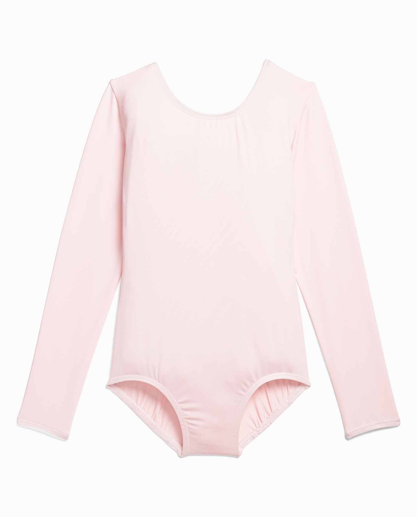 Girl's Long Sleeve Nylon Dance Leotard