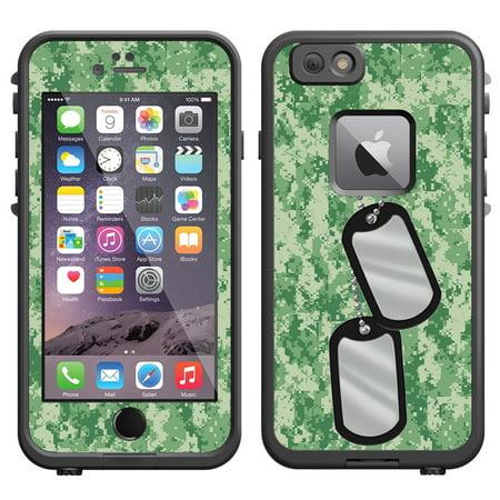 Iphone  Camouflage Lifeproof Case