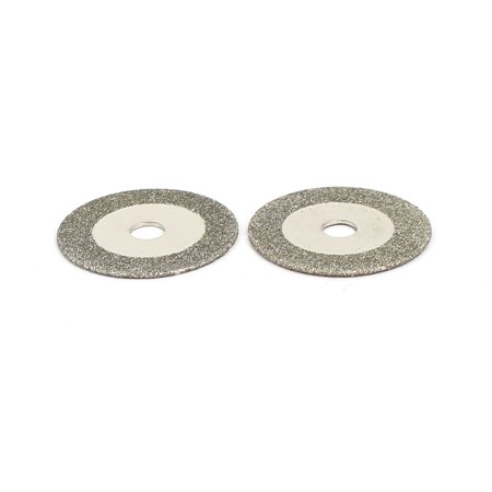 16mm Diamond Grinding Wheel Cutting Disc 2pcs for Glass Jade