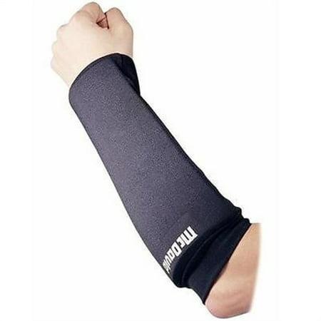 Knit Football Hand Pad - McDavid 641 Deluxe Football Forearm Pads (Pair) Black Medium