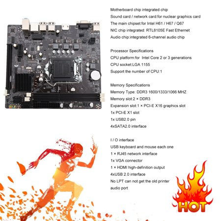 H61 Motherboard Supported Graphics Card List