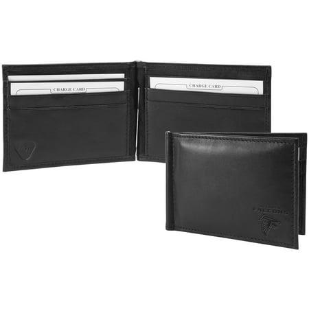 Atlanta Falcons Shield Money Clip & Wallet - Black - No Size