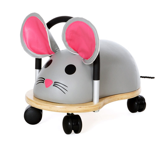 Prince Lionheart Mouse Wheely Bug Riding Push Toy