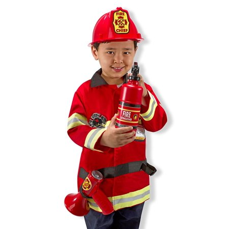 Everydays Halloween Chief (Melissa & Doug Fire Chief Role Play Costume)