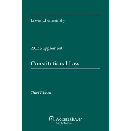 Constitutional Law 2012 Supplement