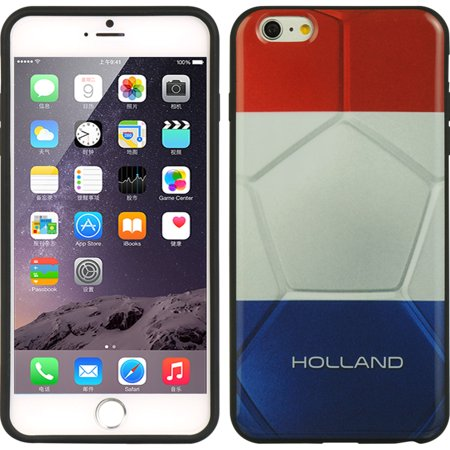 Insten TPU Imd Ultra Thin Skin Rubber Gel Case For Apple iPhone 6s Plus / 6 Plus - Holland Flag Case Ih New Holland