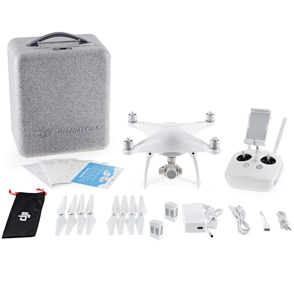 DJI Phantom 4 Quadcopter Drone Intelligent Flight With Extra Battery Bundle