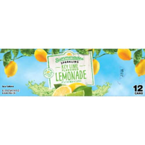 Great Value Summerlades Sparkling Key Lime Lemonade 12