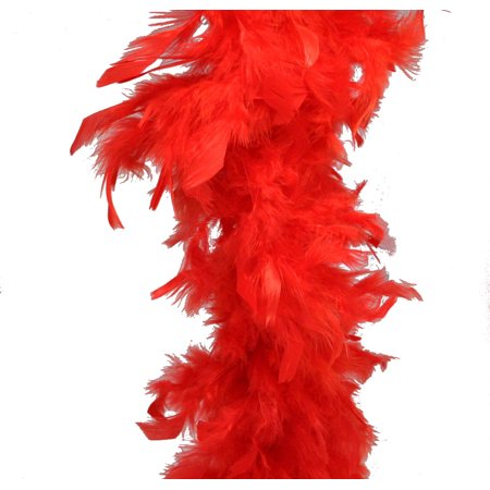 Lime Green Feather Boa (Red Feather Boa (6', 60)