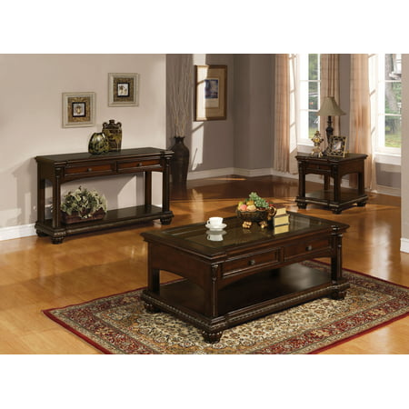 ACME Anondale Wooden Frame Coffee Table in Cherry