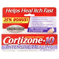 Cortizone-10 Maximum Strength 1% Hydrocortisone Anti-Itch Crme, 1.25 oz