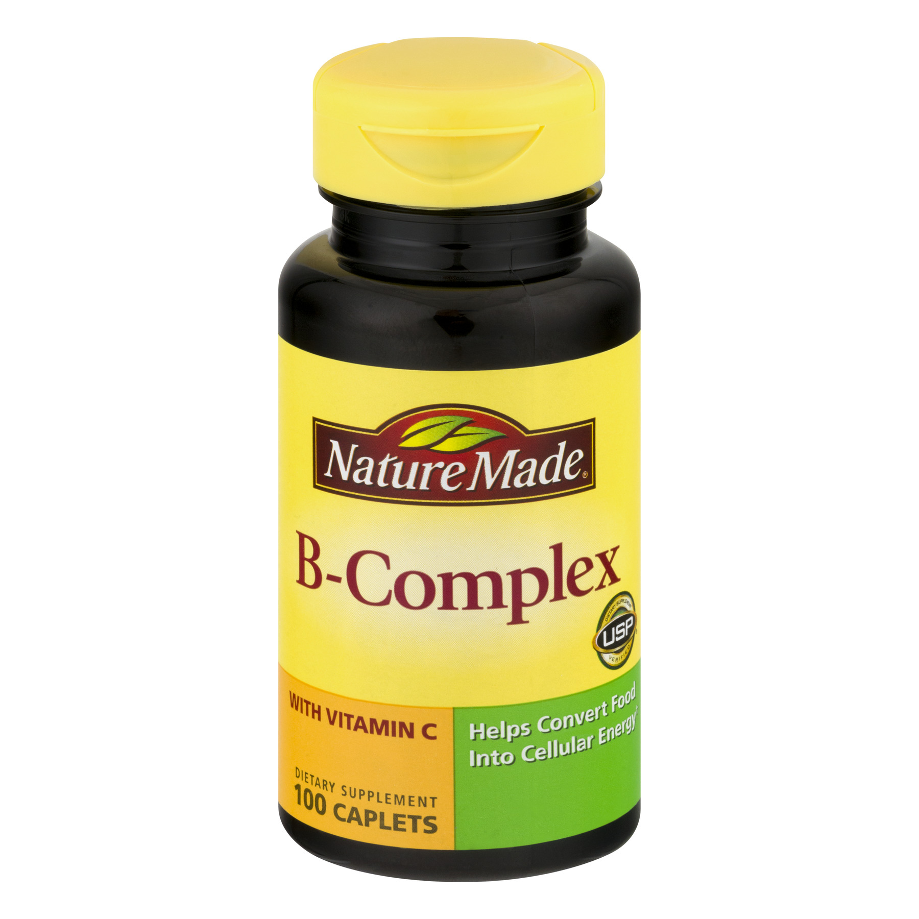 Nature Made B-Complex Caplets - 100 CT100.0 CT
