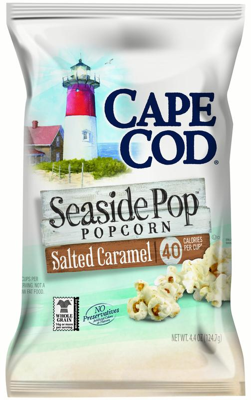 Cape Cod Seaside Pop Popcorn, Salted Caramel, 4.4 oz Bag by Cape Cod Potato Chips