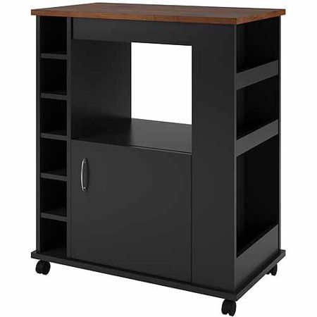 Ameriwood Home Haletown Kitchen Cart, Multiple Colors Available