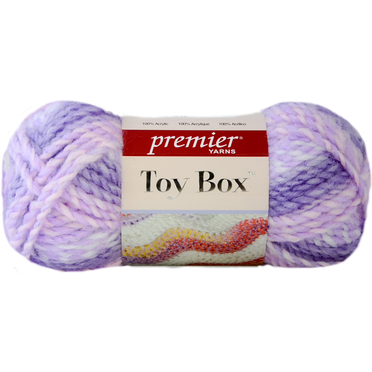 Toy Box Yarn-Finger Paint