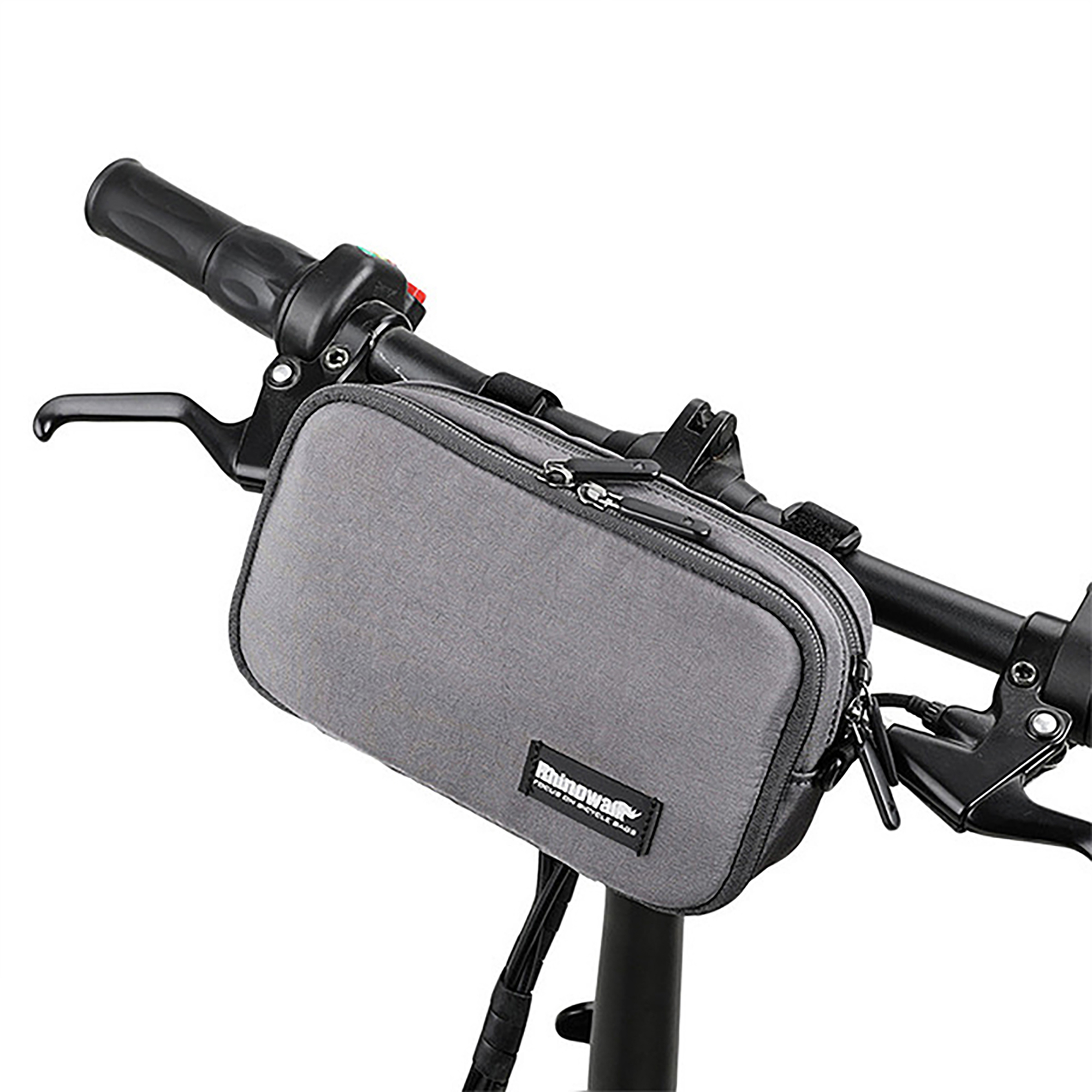 Outdoor Bike Cycling Bicycle Handlebar Bag Front Frame Tube Pouch Basket Pannier