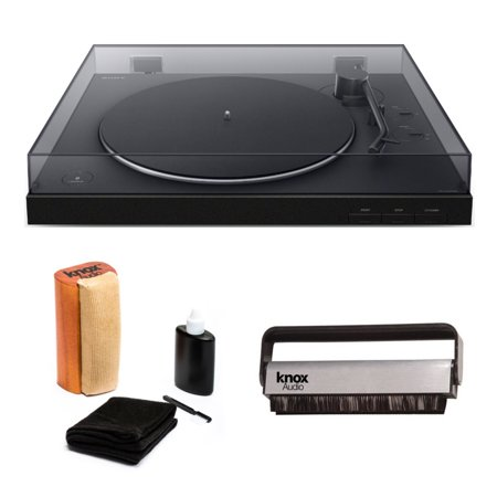 Sony PS-LX310BT Wireless Bluetooth Turntable with Vinyl Cleaning Bundle ()