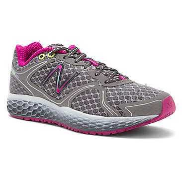New Balance Women's 980, Silver/Purple, 8.5 B(M) US