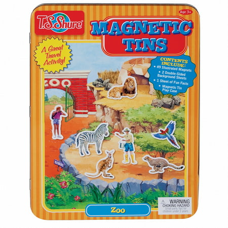 T.S. Shure Zoo Magnetic Tin Play Set