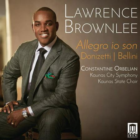 Bellini   Donizetti   Brownlee   Allegro Io Son  Cd