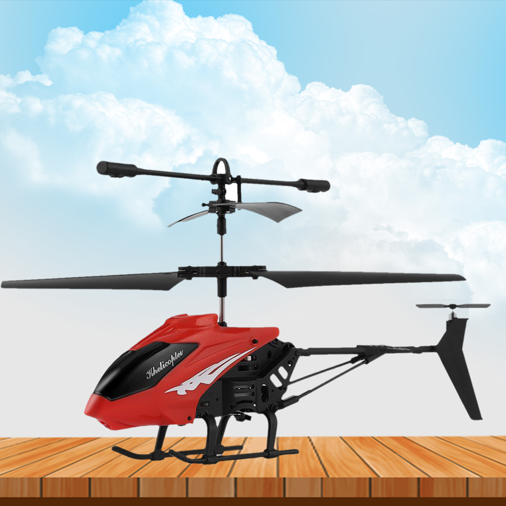 3.5 CH RC Helicopter Toy Remote Control Drone Radio Gyro Aircraft Kids Toys Red