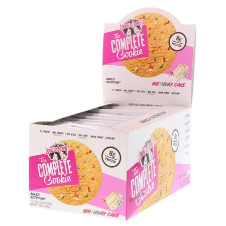 Lenny   Larry s  The Complete Cookie  Birthday Cake  12 Cookies  2 oz  57 g  Each