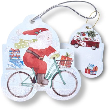 Jillson & Roberts Gift Tags with Tie String, Out for Delivery (100 Pcs) Jillson & Roberts Gift Tags with Tie String, Out for Delivery (100 Pcs)