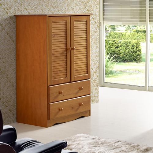 Palace Imports, Inc Palace Imports Petite Solid Wood Armoire by Overstock