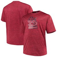 Men's Majestic Red St. Louis Cardinals Big & Tall Statement Logo T-Shirt