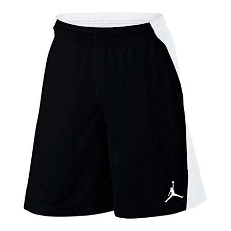 cd0e75cbd4c42b NIKE - Nike Mens Jordan Flight Basketball Shorts Black White 861496-014  Size X-Large - Walmart.com