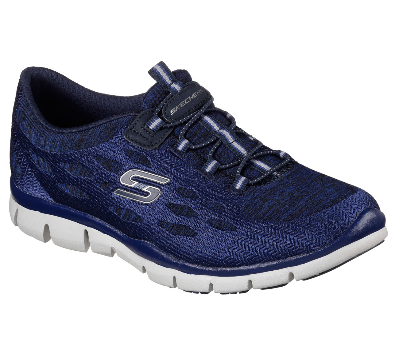 Skechers 22757 NVY Women's GRATIS BLISSFULLY Sneakers by Skechers
