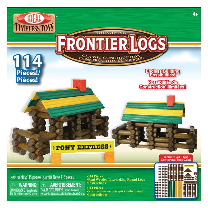 FRONTIER LOGS 114 PIECES
