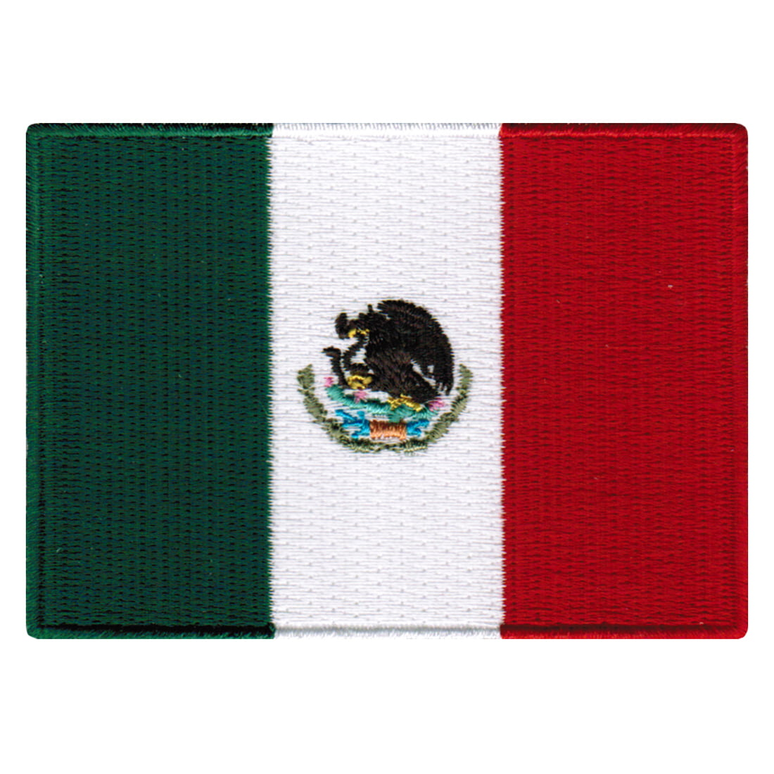"""Peru State Flag 3.5/"""" x 2/"""" Logo Sew Ironed On Badge Embroidery Applique Patch"""