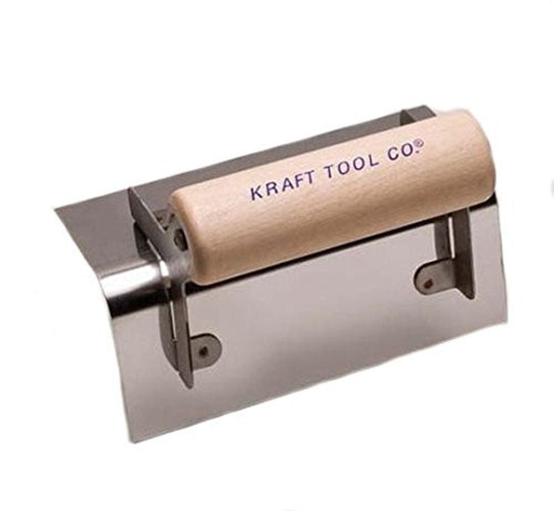 "Kraft CF121 Outside Step Tool w/Wood Handle, 6 x 2-1/2"""