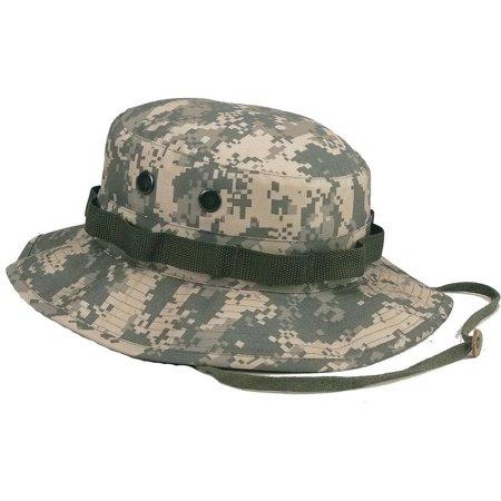 Mafoose Classic Tactical Military Boonie Outdoor Jungle Hat ACU Digital Medium